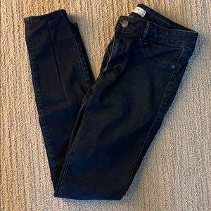 Abercrombie and Fitch dark denim jean leggings
